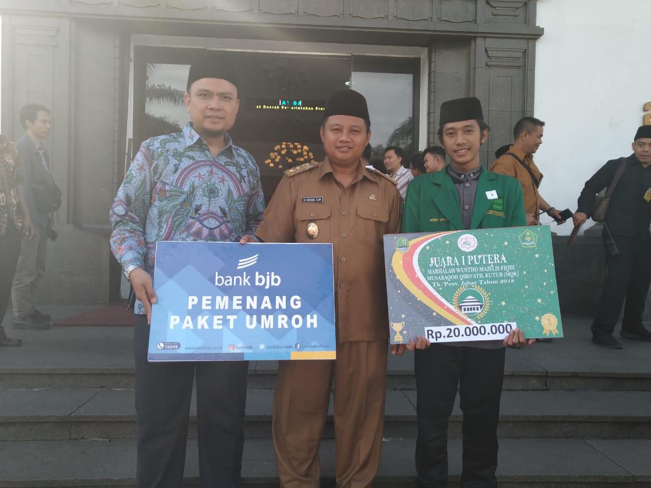 Juara 1 Musabaqoh Qirooatul Qutub Tingkat Jawa Barat